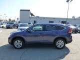 2012 Twilight Blue Metallic Honda CR-V EX-L 4WD #69841684