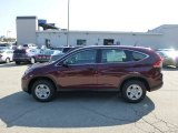 2012 Basque Red Pearl II Honda CR-V LX 4WD #69841683