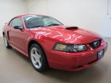 2002 Laser Red Metallic Ford Mustang GT Coupe #69840982