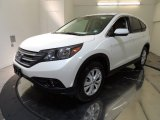 2012 White Diamond Pearl Honda CR-V EX 4WD #69841647