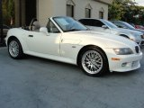 2001 BMW Z3 Alpine White