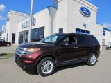 2012 Cinnamon Metallic Ford Explorer XLT 4WD #69841308