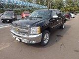 2012 Black Chevrolet Silverado 1500 LT Crew Cab #69841608