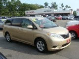 2011 Sandy Beach Metallic Toyota Sienna LE #69841283