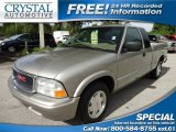 2002 Pewter Metallic GMC Sonoma SL Extended Cab #69841605