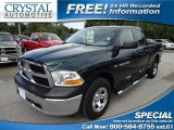 2011 Hunter Green Pearl Dodge Ram 1500 ST Quad Cab #69841603