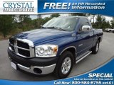 2008 Electric Blue Pearl Dodge Ram 1500 SXT Regular Cab #69841602