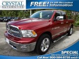 2011 Deep Cherry Red Crystal Pearl Dodge Ram 1500 Big Horn Quad Cab #69841597