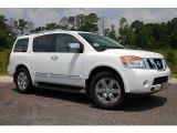 2012 Blizzard White Nissan Armada Platinum #69905239