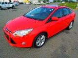 2012 Race Red Ford Focus SE Sport Sedan #69905055