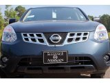 Graphite Blue Nissan Rogue in 2012