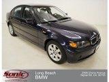2003 Orient Blue Metallic BMW 3 Series 325i Sedan #69905008