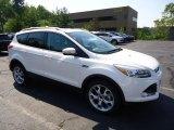 2013 White Platinum Metallic Tri-Coat Ford Escape Titanium 2.0L EcoBoost 4WD #69904980