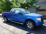 2012 Blue Flame Metallic Ford F150 STX SuperCab 4x4 #69904977
