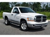 2006 Bright White Dodge Ram 1500 SLT Regular Cab 4x4 #69905309