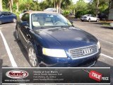 2004 Moro Blue Pearl Effect Audi A4 1.8T Cabriolet #69904926