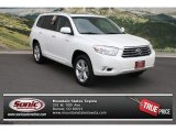 2010 Blizzard White Pearl Toyota Highlander Limited 4WD #69904900