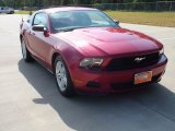 2011 Red Candy Metallic Ford Mustang V6 Coupe #69949834