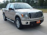 2012 Pale Adobe Metallic Ford F150 XLT SuperCrew 4x4 #69949833