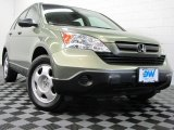 2009 Green Tea Metallic Honda CR-V LX 4WD #69949577