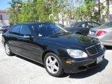 2004 Obsidian Black Metallic Mercedes-Benz S 500 Sedan #69949287