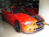 2013 Race Red Ford Mustang Shelby GT500 SVT Performance Package Coupe #69949758