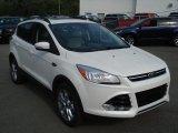 2013 White Platinum Metallic Tri-Coat Ford Escape SEL 1.6L EcoBoost 4WD #69949757