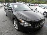 2010 Crimson Black Nissan Maxima 3.5 S #69949494