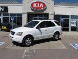 2009 Clear White Kia Sorento LX 4x4 #6961176