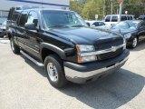 2003 Black Chevrolet Silverado 2500HD LT Extended Cab 4x4 #69949179