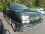 2004 Dark Green Metallic Chevrolet Silverado 1500 LS Extended Cab 4x4 #69949370