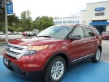 2013 Ruby Red Metallic Ford Explorer XLT #69997491