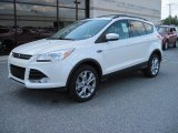 2013 Ford Escape White Platinum Metallic Tri-Coat
