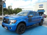 2012 Blue Flame Metallic Ford F150 FX2 SuperCrew #69997475