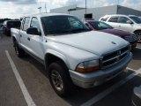 2004 Bright White Dodge Dakota SLT Quad Cab 4x4 #69998156