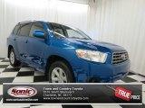 2008 Blue Streak Metallic Toyota Highlander  #69997793