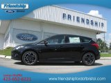2012 Tuxedo Black Metallic Ford Focus Titanium 5-Door #69997426
