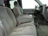 2004 Chevrolet Silverado 1500 Z71 Extended Cab 4x4 Medium Gray Interior