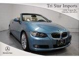 2009 Atlantic Blue Metallic BMW 3 Series 328i Convertible #69997772