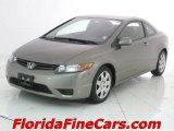2006 Galaxy Gray Metallic Honda Civic LX Coupe #6957358