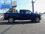 2013 Blue Topaz Metallic Chevrolet Silverado 1500 LT Extended Cab 4x4 #69997374