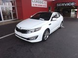 2013 Snow White Pearl Kia Optima SX Limited #69997699