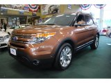 2011 Golden Bronze Metallic Ford Explorer Limited 4WD #69997985