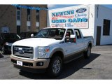 2012 Oxford White Ford F250 Super Duty King Ranch Crew Cab 4x4 #69997984
