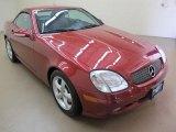 2001 Magma Red Mercedes-Benz SLK 320 Roadster #69997268