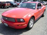 2007 Torch Red Ford Mustang V6 Premium Coupe #69997237