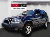 2002 Patriot Blue Pearlcoat Jeep Grand Cherokee Laredo 4x4 #69997924