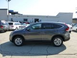 2012 Polished Metal Metallic Honda CR-V EX 4WD #69997916