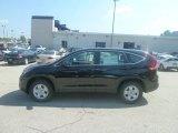 2012 Crystal Black Pearl Honda CR-V LX 4WD #69997915