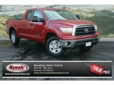 2012 Barcelona Red Metallic Toyota Tundra Double Cab 4x4 #69997208